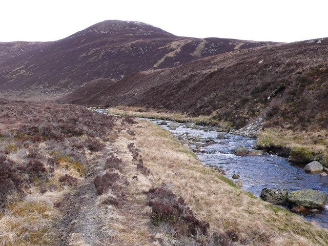 Stalker's path, Abhainn Beinn nan Eun