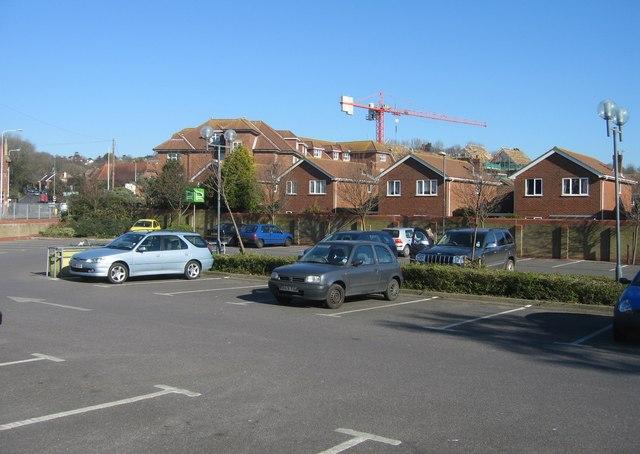 Waitrose car park