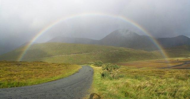 Rainbow on the Isle of Skye