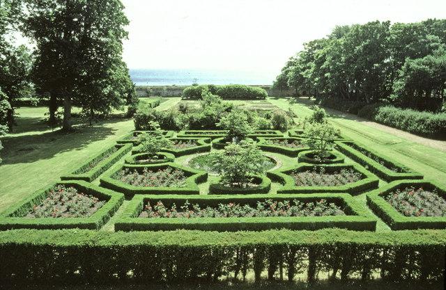 Rose Garden, Dunrobin Castle, Sutherland
