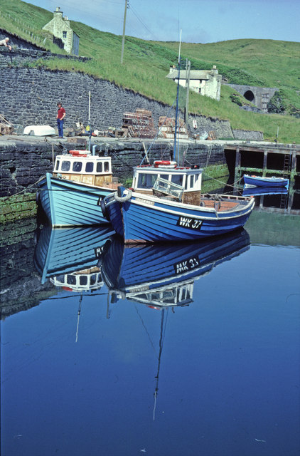 Invershore Harbour, Lybster, Caithness