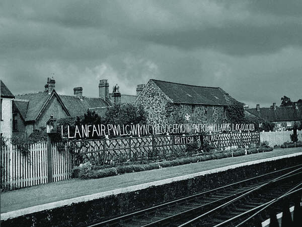 Llanfair PG station