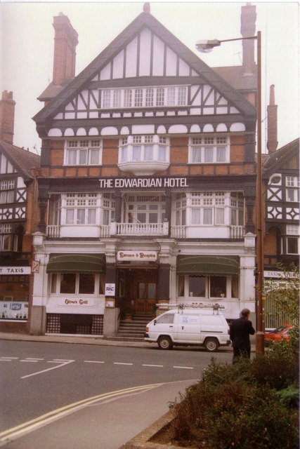The Edwardian Hotel once known as the Imperial