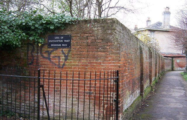 Wall and Footpath-Titchfield