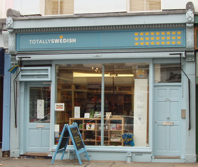 Swedish shop, Crawford Street