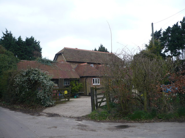 Tickham Farm on the corner of Tickham Lane