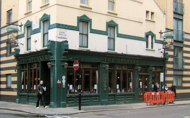 The Speaker Pub, Great Peter Street, SW1