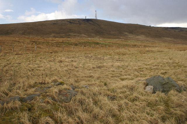 View towards Ward of Scousburgh