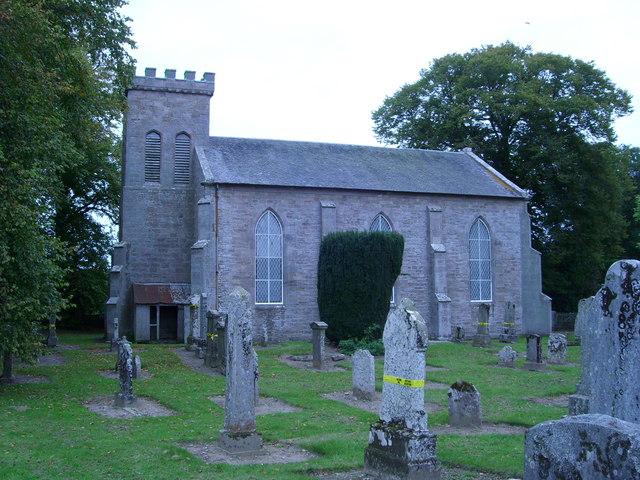 Moneydie Church & Graveyard