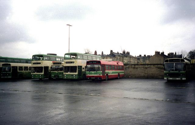 Huddersfield bus station