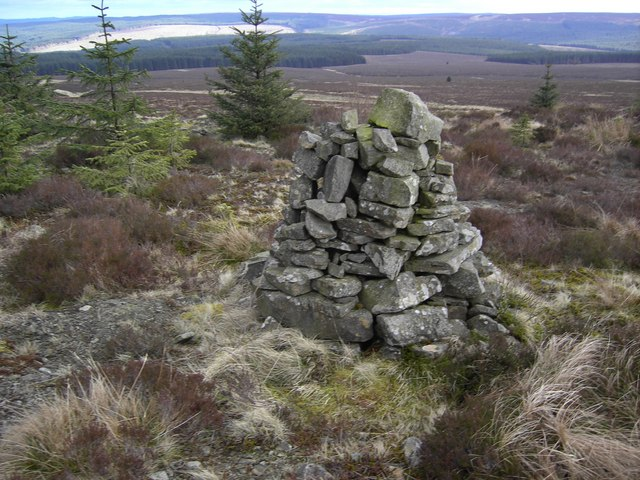 Cairn on Kielder Path