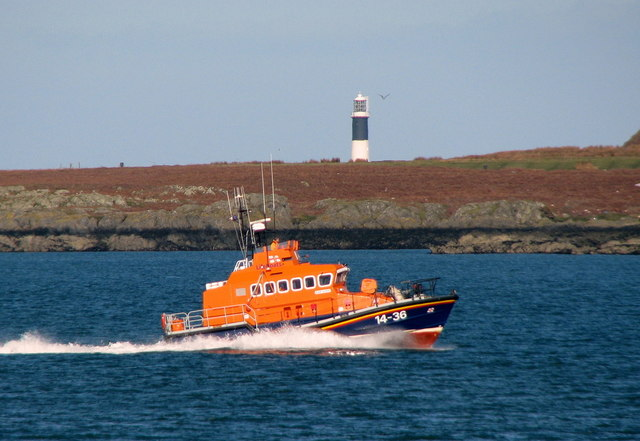 Donaghadee Lifeboat in the Copeland Sound [1]