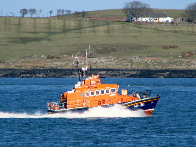 Donaghadee Lifeboat in the Copeland Sound [2]