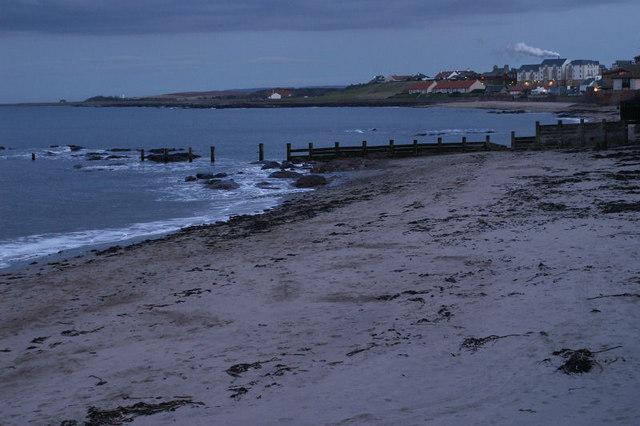 East end of Dunbar