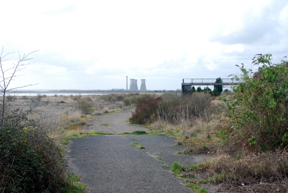 The derelict hoverport, Pegwell Bay