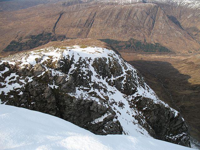 North ridge of Maol Odhar