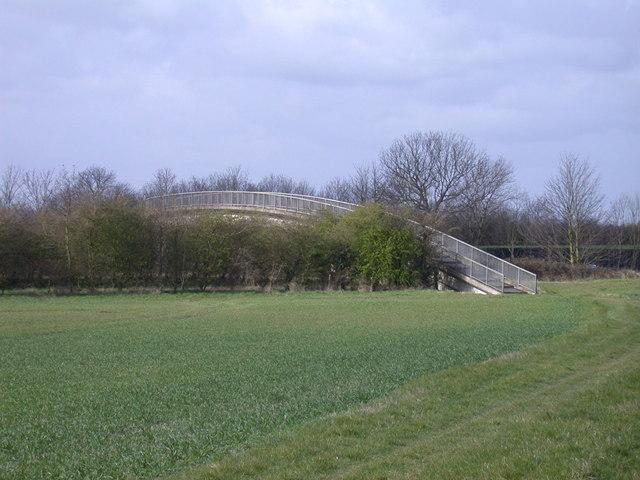 Footbridge over M11