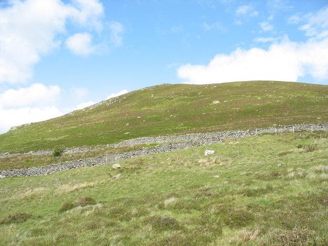 Former quarrymen's path from Rhiwlas to Pen-y-bwlch
