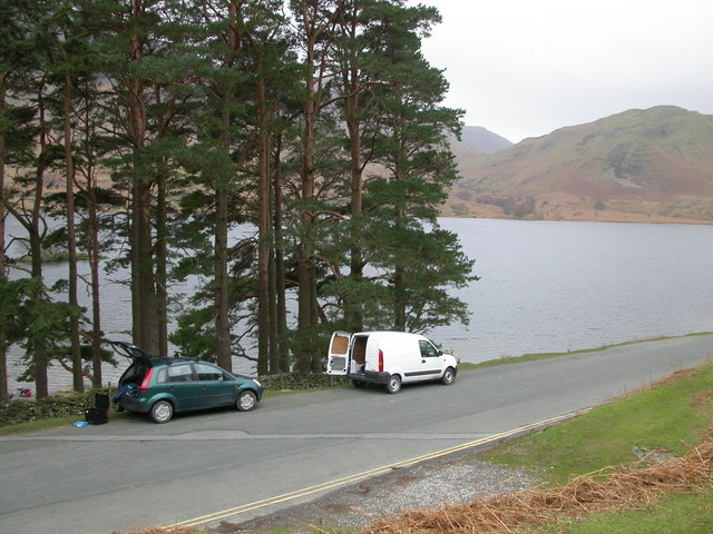 Crummock Water and the B5289