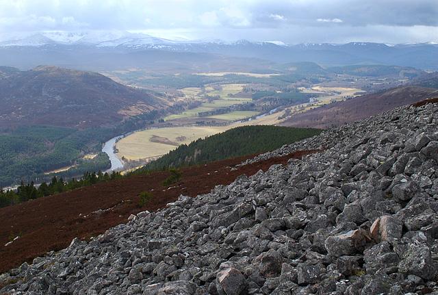 South slopes of Creag na Creiche