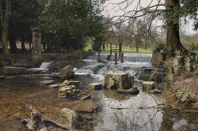 The Waterfall at Kearsney Abbey, Nr. Dover