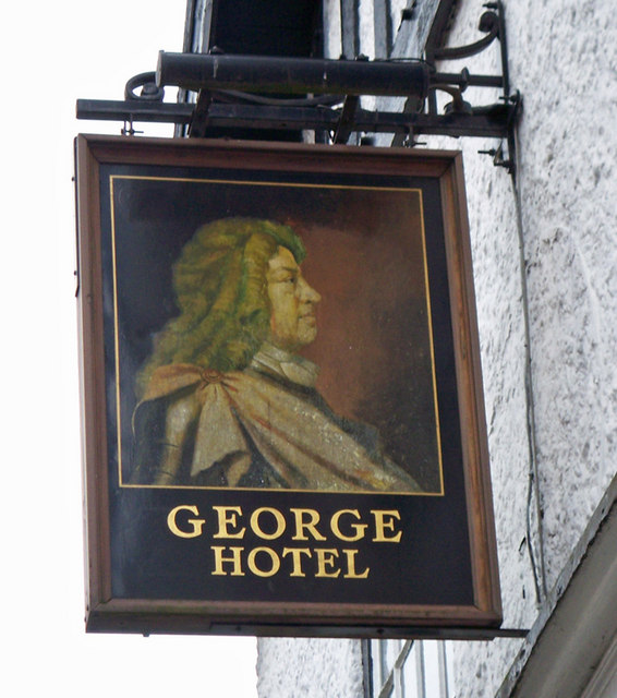 The Sign of the George
