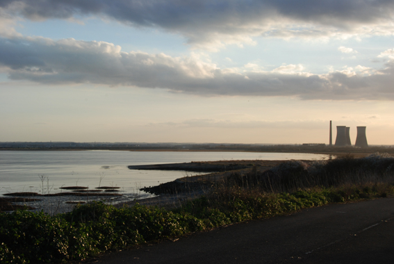 Late afternoon over Pegwell Bay