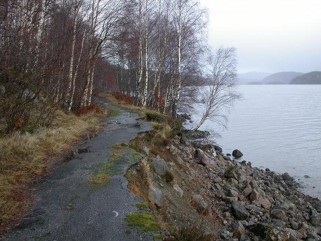 Old Road, Loch Garry