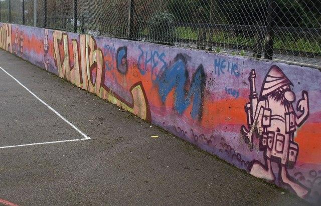 Graffiti, Axbridge