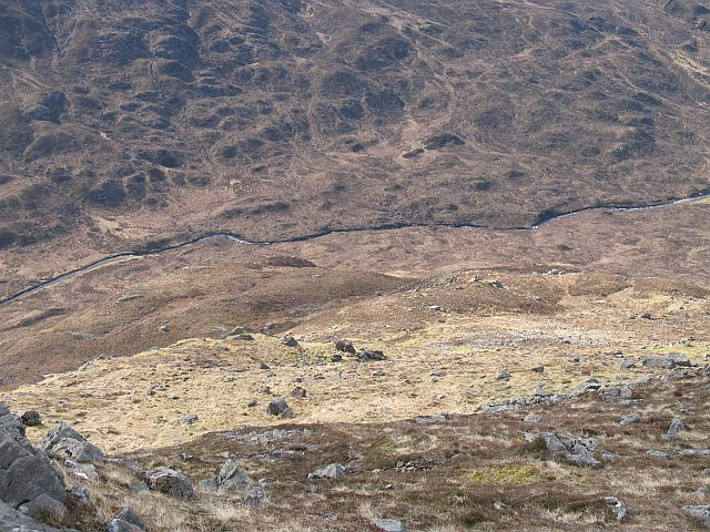 Southern slopes of  Sgurr na h-Uilinn