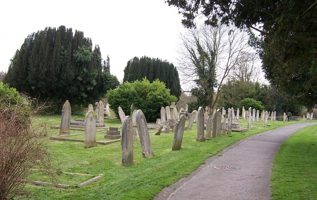 Wonky Gravestones-Titchfield Churchyard