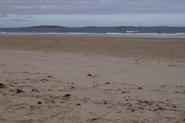 Beach beside St Aidan's Dunes