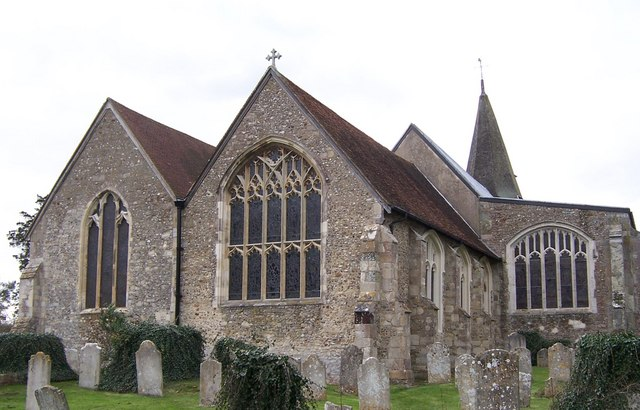 Rear view of Church at Titchfield