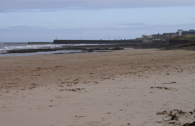 Seahouses from the north-west