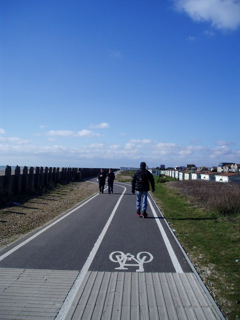 Worthing to Shoreham cycle path