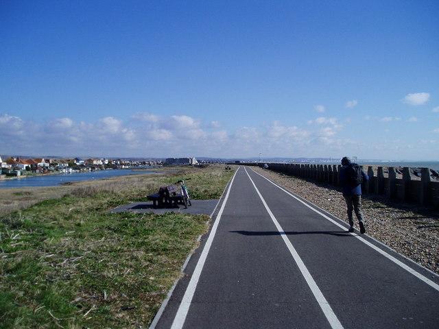 Worthing to Shoreham cycle track