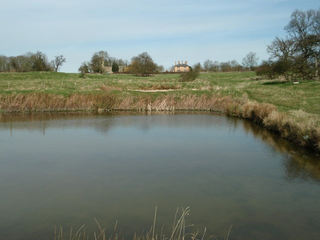 Fish ponds at Steeple Gidding