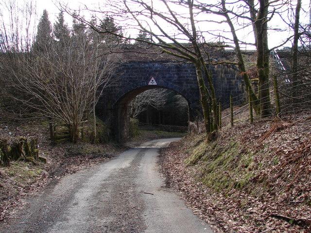 Railway Bridge near Enterkinfoot