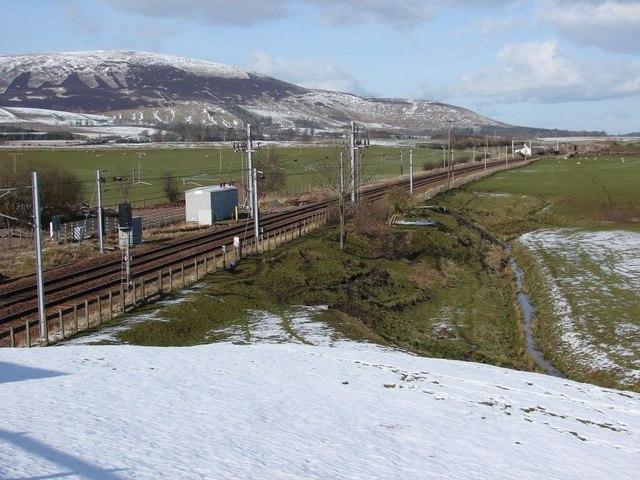 Site of Lamington rail station