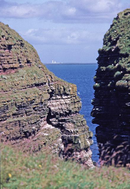 Geo of Sclaites, Caithness, Scotland