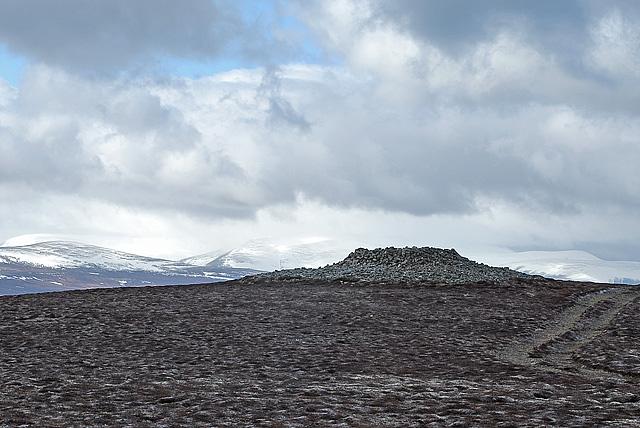 Summit of Geallaig Hill