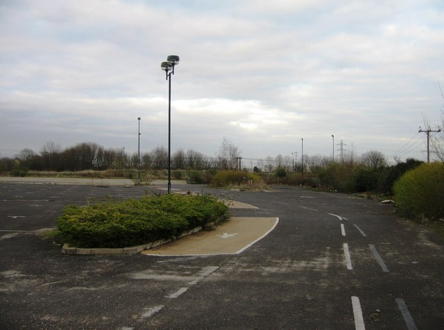 View of derelict Park & Ride (1)