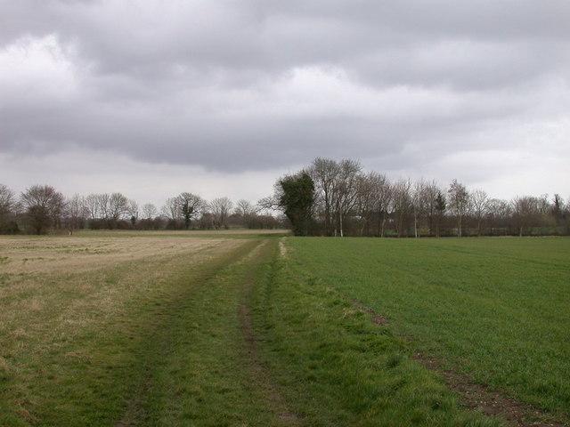 Bridleway to Hauxton