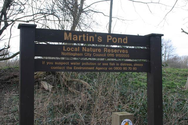 A walk round Martin's Pond, Wollaton (Introduction)