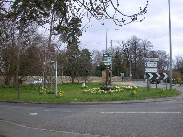 Springtime in Harston