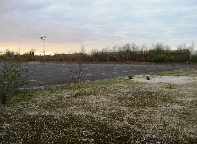 View of derelict Park & Ride (2)