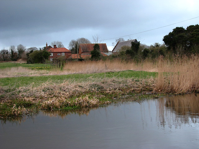 Looking across the River Bure