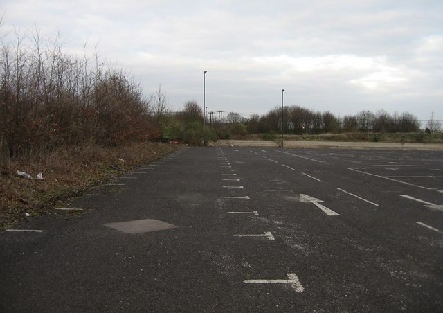 View of derelict Park & Ride (5)