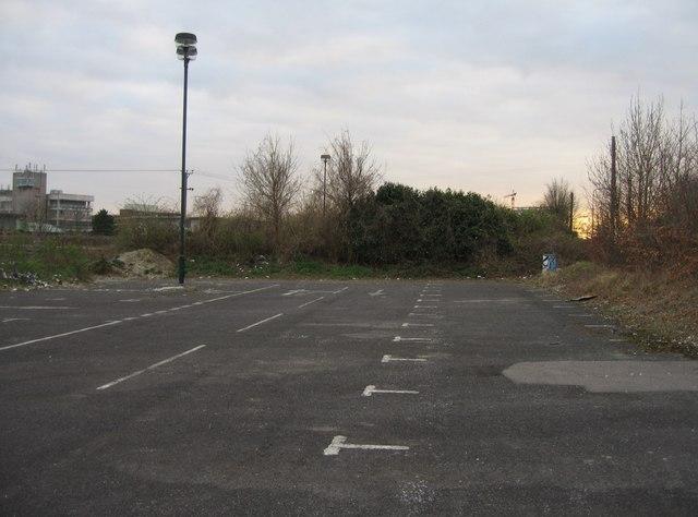 View of derelict Park & Ride (6)