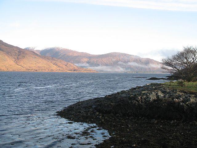 Shore of Loch Linnhe